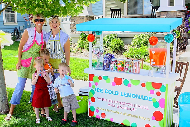 The story behind our lemonade stand for How to build a lemonade stand on wheels